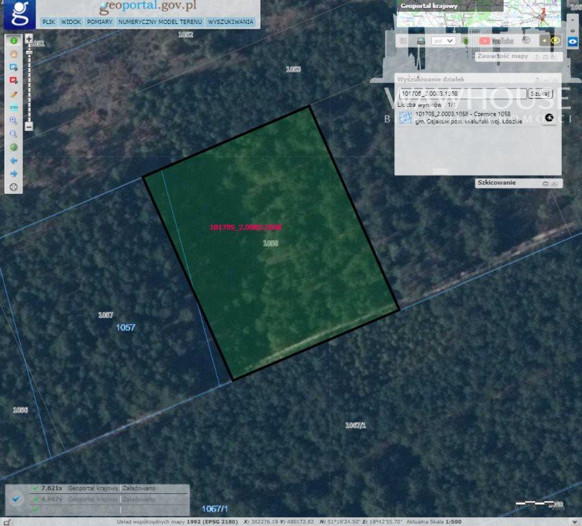 Działka leśna na sprzedaż Czernice  23500m2 Foto 6