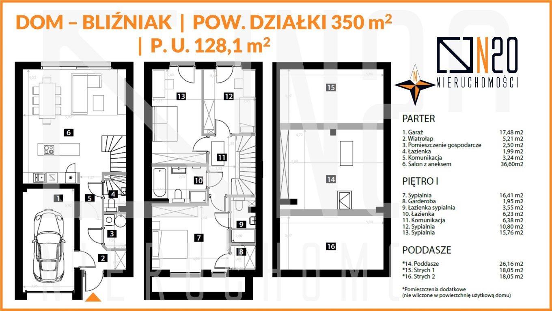 Dom na sprzedaż KRAKÓW, Dębniki, Skotniki, SKOTNIKI  150m2 Foto 4