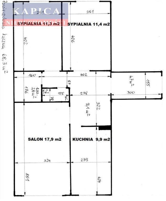 Mieszkanie trzypokojowe na sprzedaż Warszawa, Wola, Czyste  71m2 Foto 7