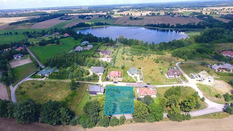Działka inna na sprzedaż Rokocin, Jezioro, Las, Rybacka  1224m2 Foto 1