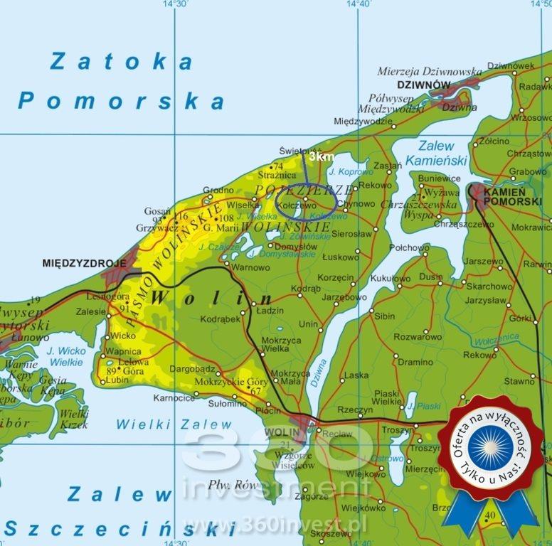 Działka budowlana na sprzedaż Kołczewo  1049m2 Foto 1