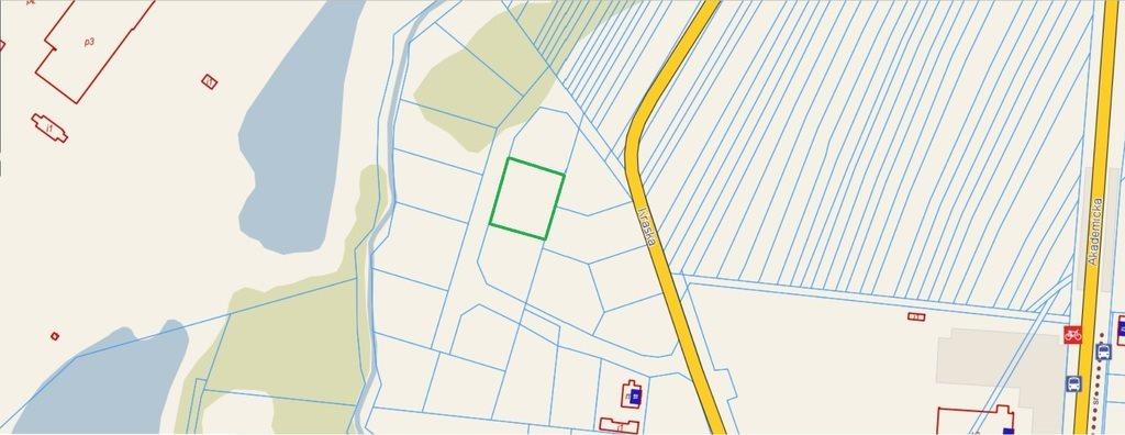 Działka budowlana na sprzedaż Łomża, Kraska  1049m2 Foto 1