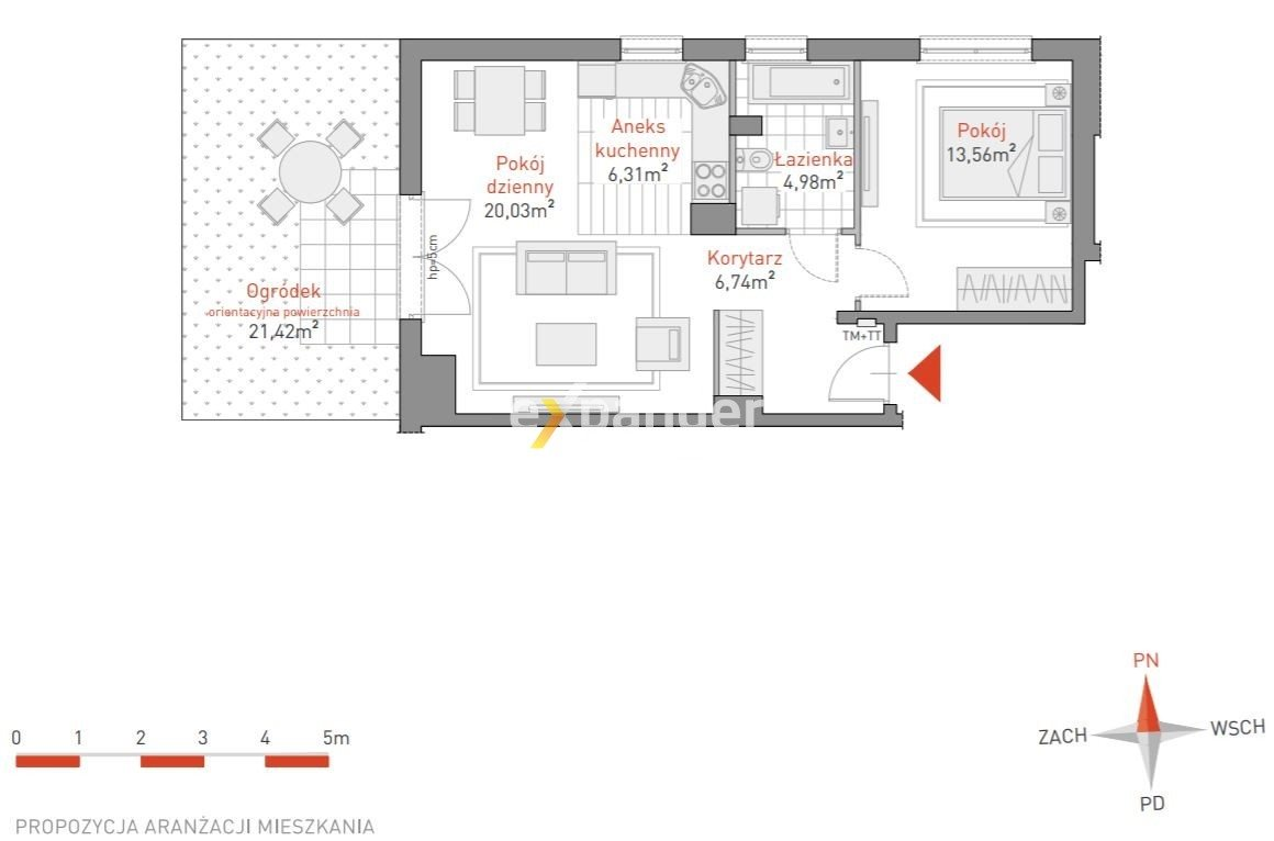 Mieszkanie trzypokojowe na sprzedaż Gdynia, Oksywie, Australijska  52m2 Foto 1