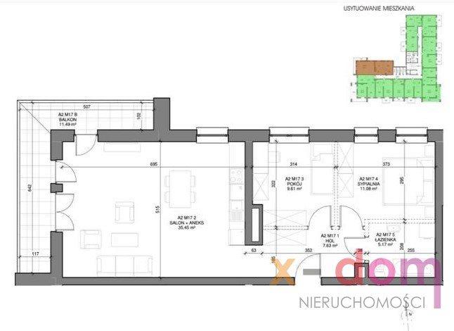 Mieszkanie trzypokojowe na sprzedaż Kielce, Stefana Okrzei  70m2 Foto 6