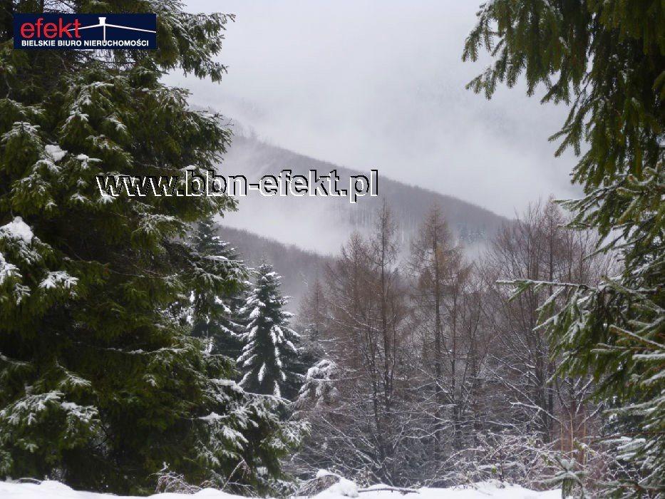 Działka leśna na sprzedaż Międzybrodzie Bialskie  3600m2 Foto 1