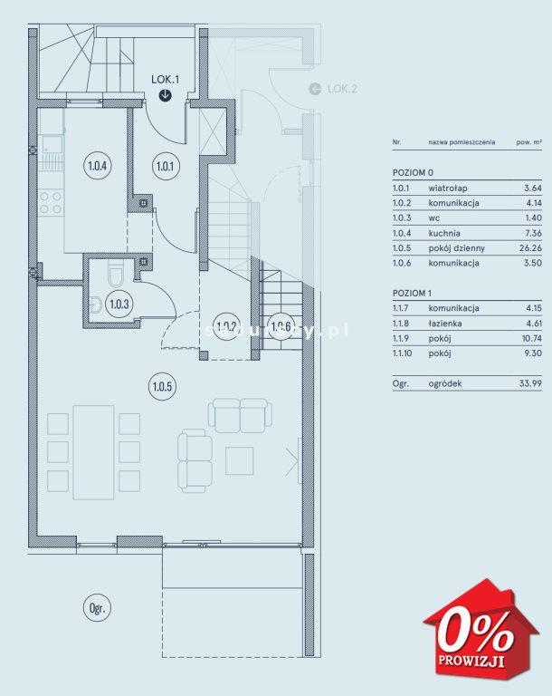 Mieszkanie trzypokojowe na sprzedaż Wieliczka, Wieliczka, Wieliczka, Kasztanowa okolice  75m2 Foto 4
