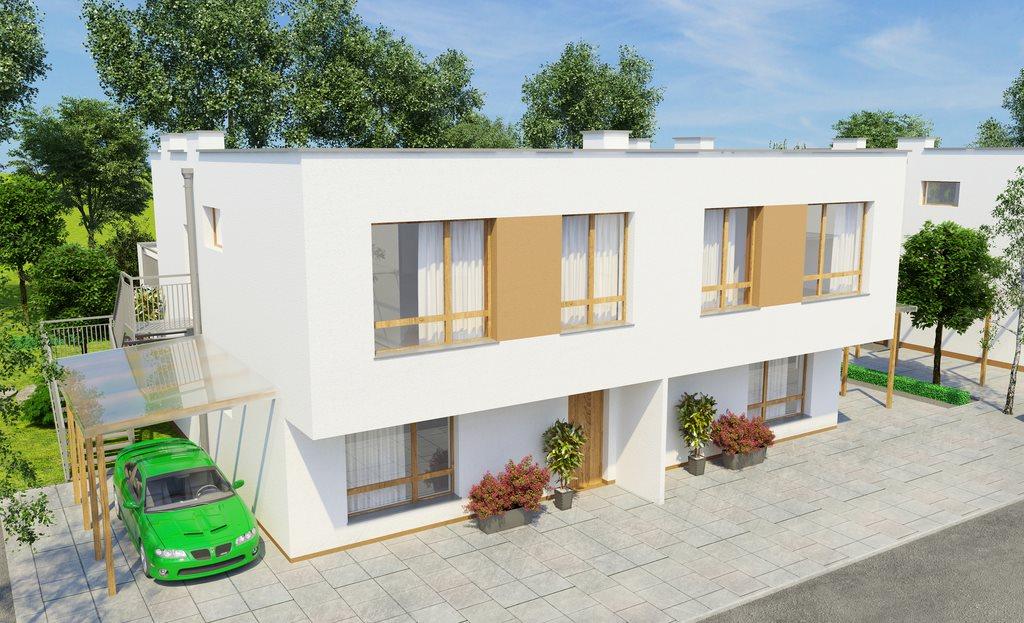 Mieszkanie trzypokojowe na sprzedaż Zamienie  73m2 Foto 2