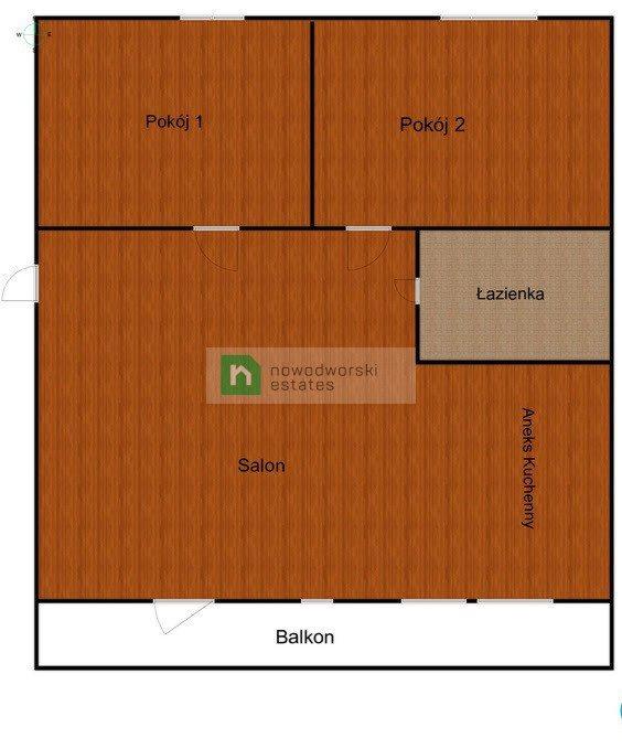 Mieszkanie trzypokojowe na sprzedaż Olsztyn, Dywizjonu 303  55m2 Foto 6