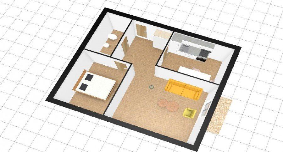 Mieszkanie dwupokojowe na sprzedaż Szczecin, Gumieńce  52m2 Foto 1