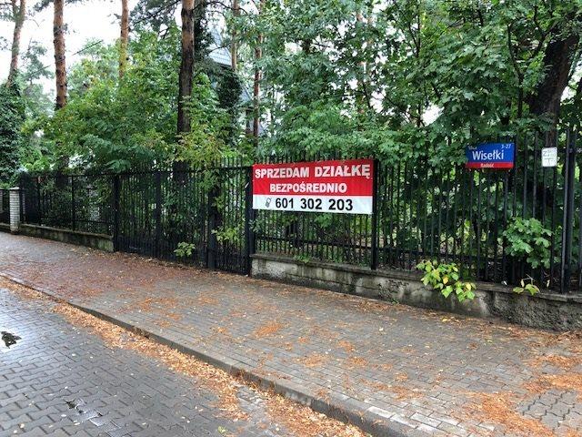 Działka budowlana na sprzedaż Warszawa, Wawer, Wisełki 27  1717m2 Foto 1