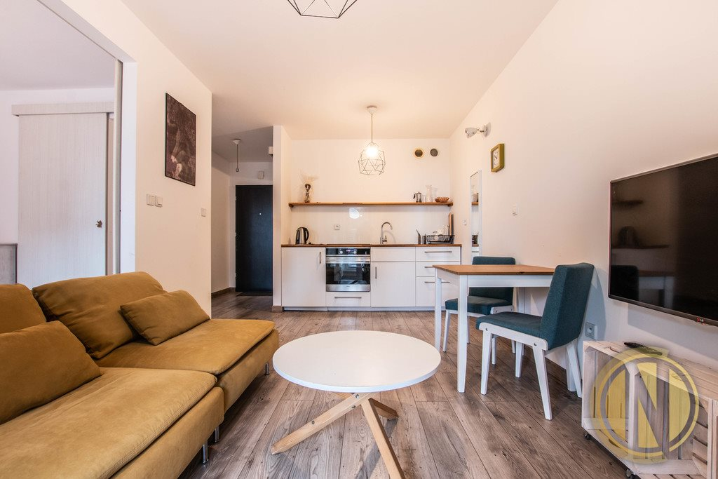 Mieszkanie dwupokojowe na sprzedaż Kraków, Podgórze, Nadwiślańska  36m2 Foto 3