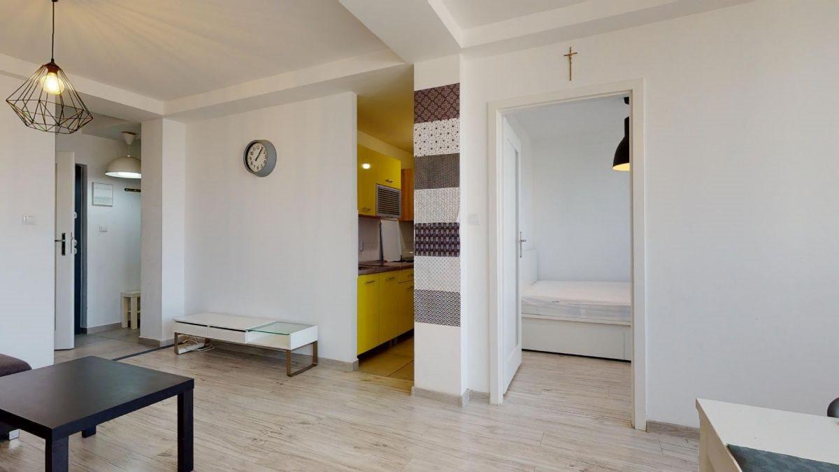 Mieszkanie dwupokojowe na sprzedaż Katowice, Centrum, Aleja Wojciecha Korfantego  48m2 Foto 5