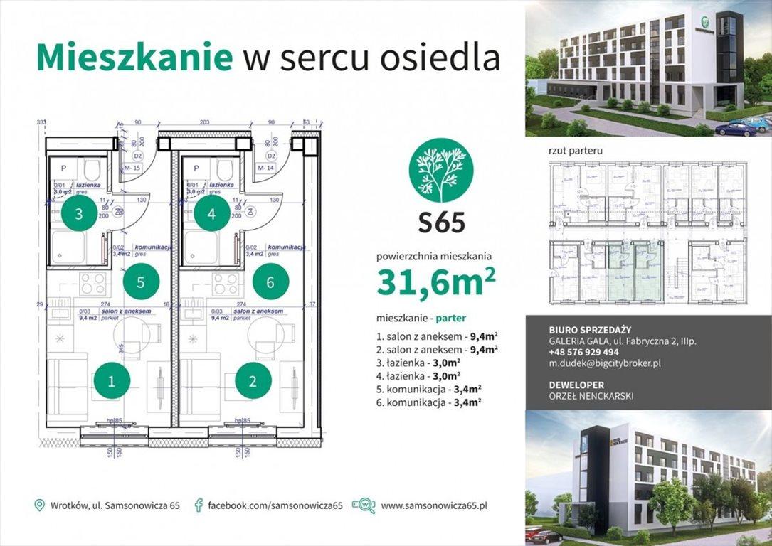 Mieszkanie dwupokojowe na sprzedaż Lublin, Wrotków  34m2 Foto 3