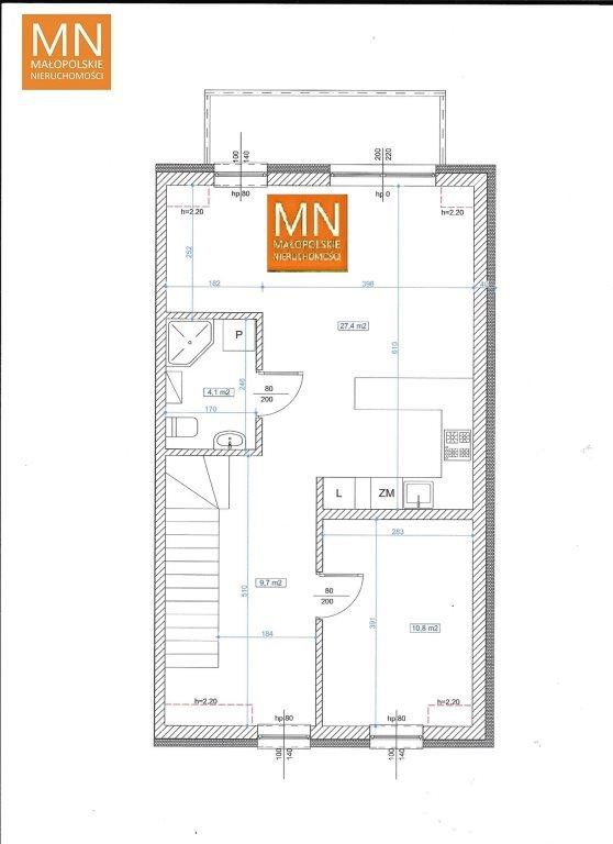 Mieszkanie trzypokojowe na sprzedaż Niepołomice  52m2 Foto 10