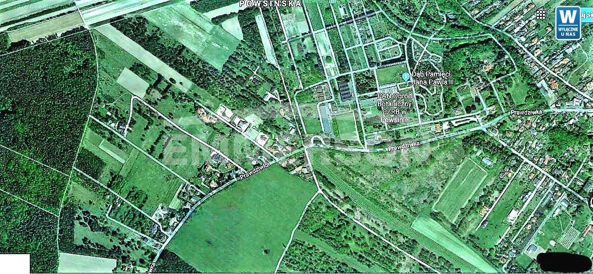 Działka budowlana na sprzedaż Warszawa, Wilanów Powsin, Prawdziwka  51700m2 Foto 1