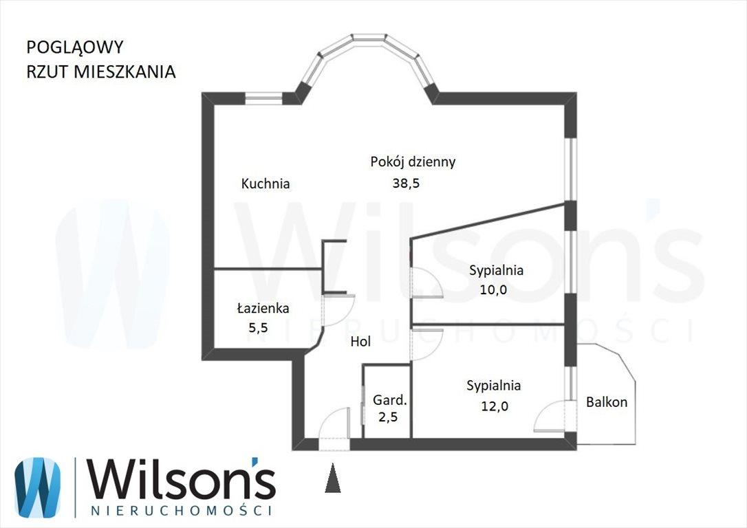 Mieszkanie trzypokojowe na sprzedaż Warszawa, Ursynów, Makolągwy  78m2 Foto 4