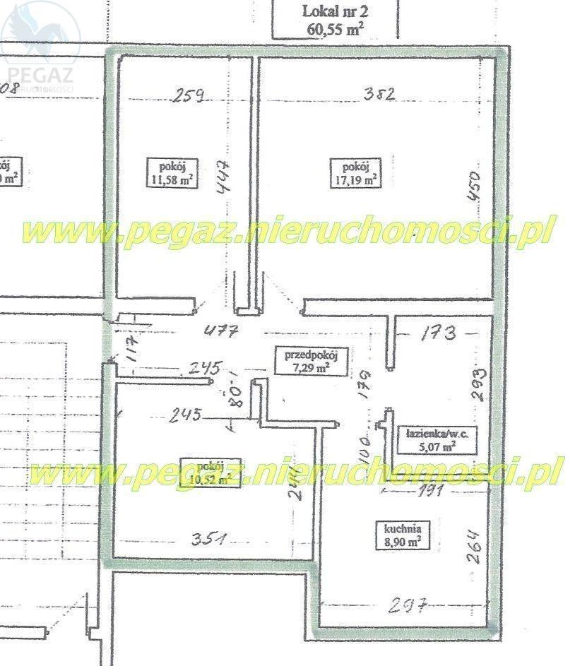 Mieszkanie trzypokojowe na sprzedaż Chodzież, Świerkowa  69m2 Foto 3