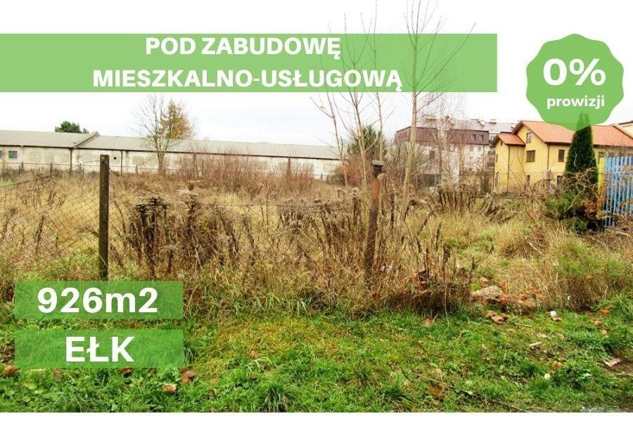 Działka budowlana na sprzedaż Ełk, Północ I  926m2 Foto 1