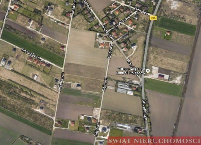 Działka siedliskowa na sprzedaż Żerniki Wrocławskie  2774m2 Foto 1