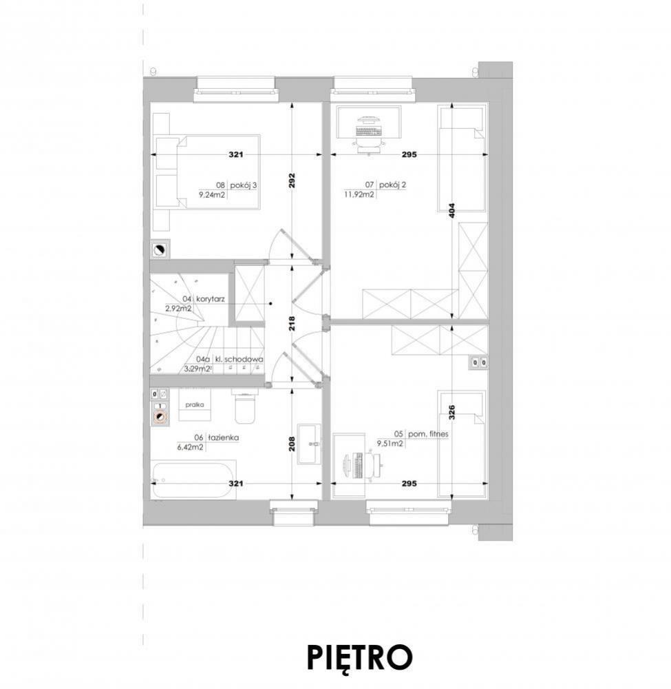 Mieszkanie czteropokojowe  na sprzedaż Luboń, Lasek  90m2 Foto 10