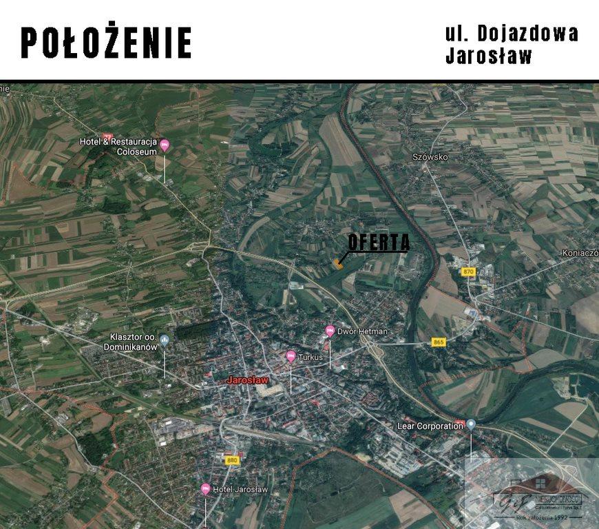 Działka budowlana na sprzedaż Jarosław, Dojazdowa  3400m2 Foto 5