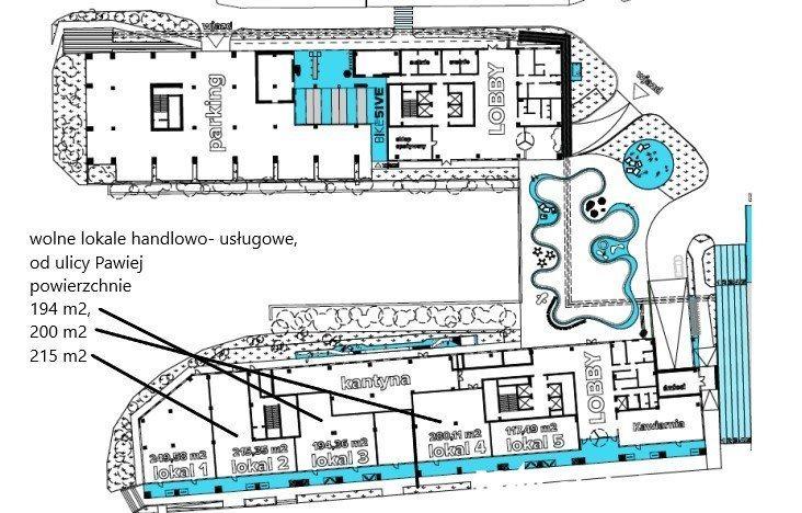 Lokal użytkowy na wynajem Kraków, Pawia  215m2 Foto 3