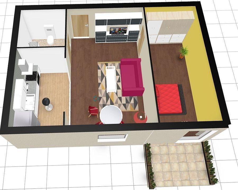 Mieszkanie dwupokojowe na sprzedaż Police  43m2 Foto 2
