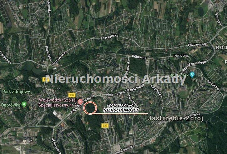 Działka inwestycyjna na sprzedaż Jastrzębie-Zdrój, Centrum, Aleja Jana Pawła II  2400m2 Foto 3