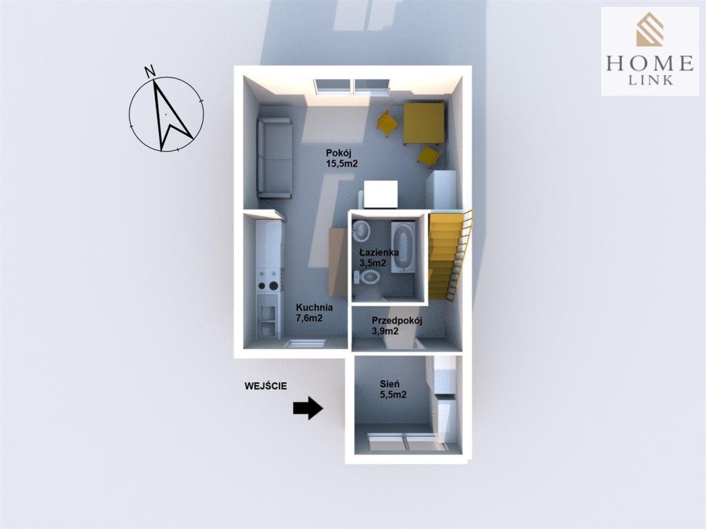Dom na sprzedaż Łęgajny  64m2 Foto 6