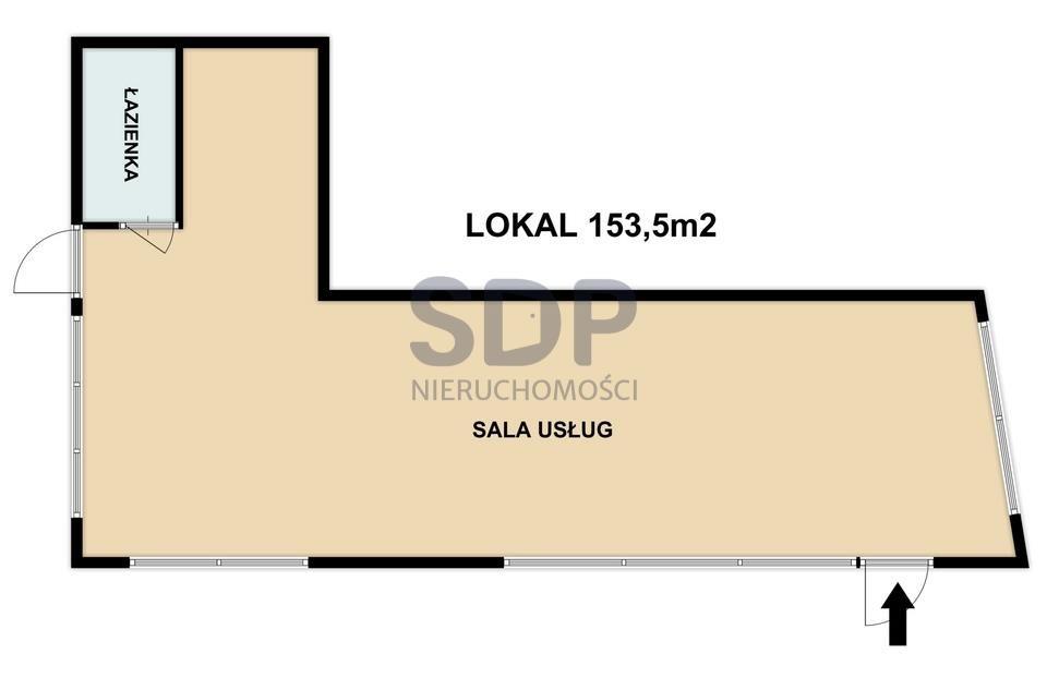 Lokal użytkowy na sprzedaż Wrocław, Krzyki, Klecina, Wałbrzyska  154m2 Foto 2