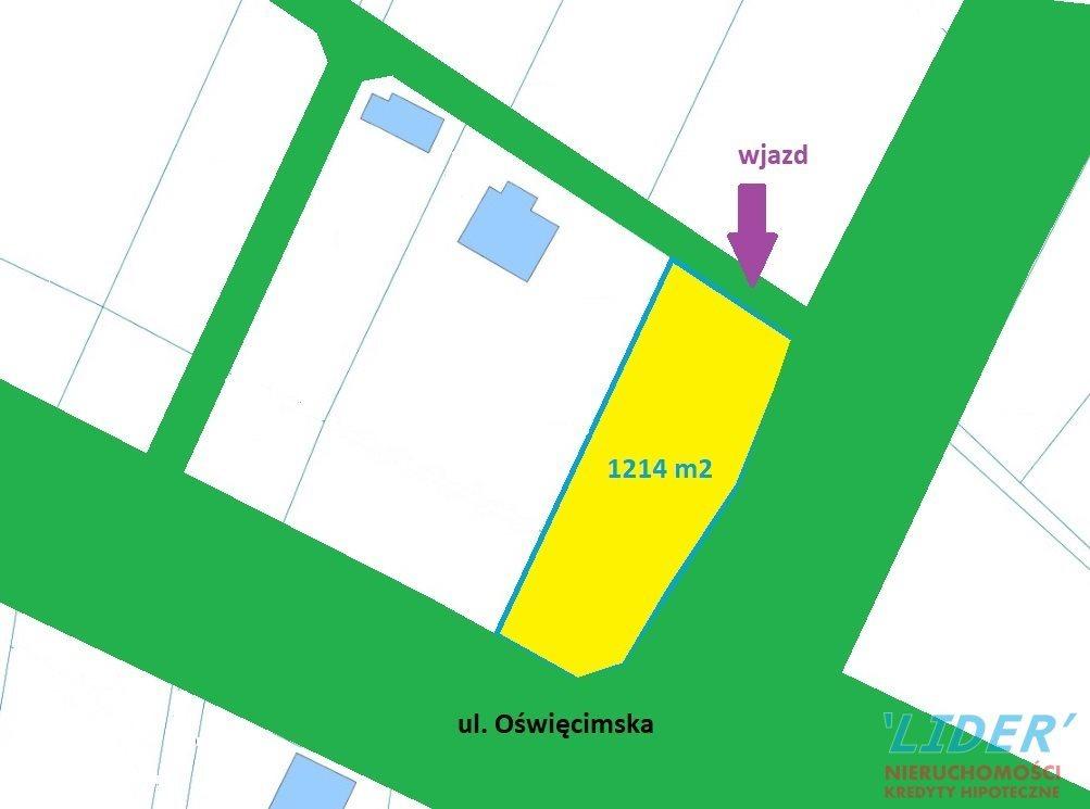 Działka budowlana na sprzedaż Tychy, Urbanowice  1214m2 Foto 1