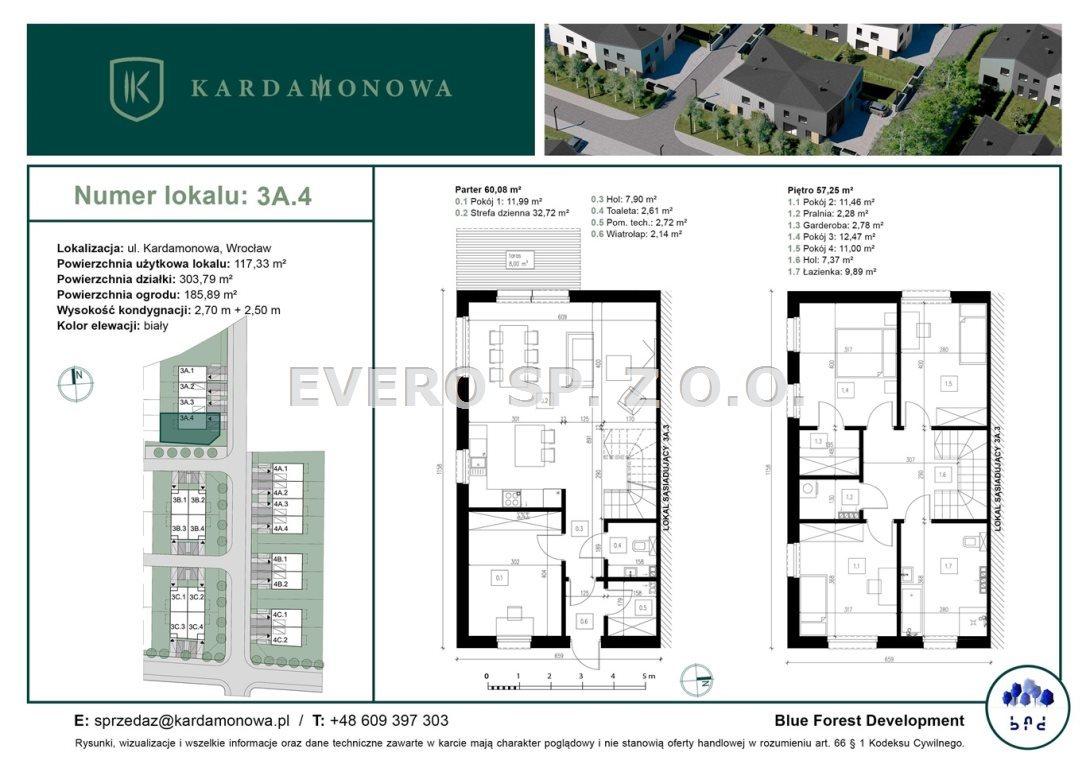 Dom na sprzedaż Wrocław, Fabryczna, Żerniki, Kardamonowa  117m2 Foto 7