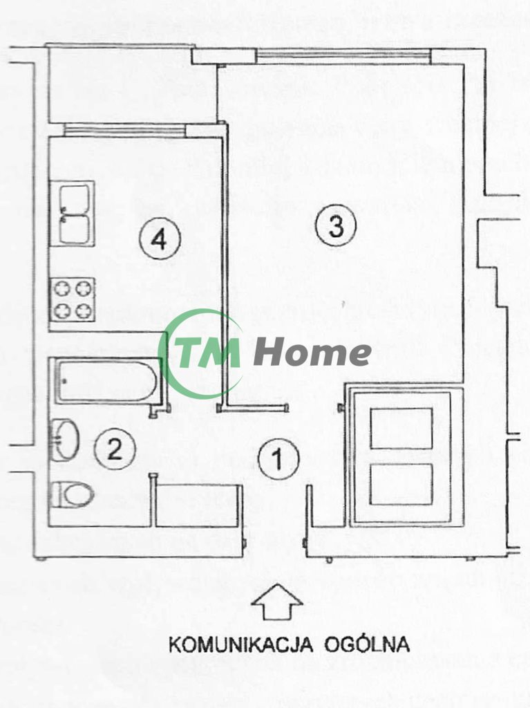 Mieszkanie dwupokojowe na sprzedaż Warszawa, Mokotów, Wierzbno, Broniwoja  31m2 Foto 4