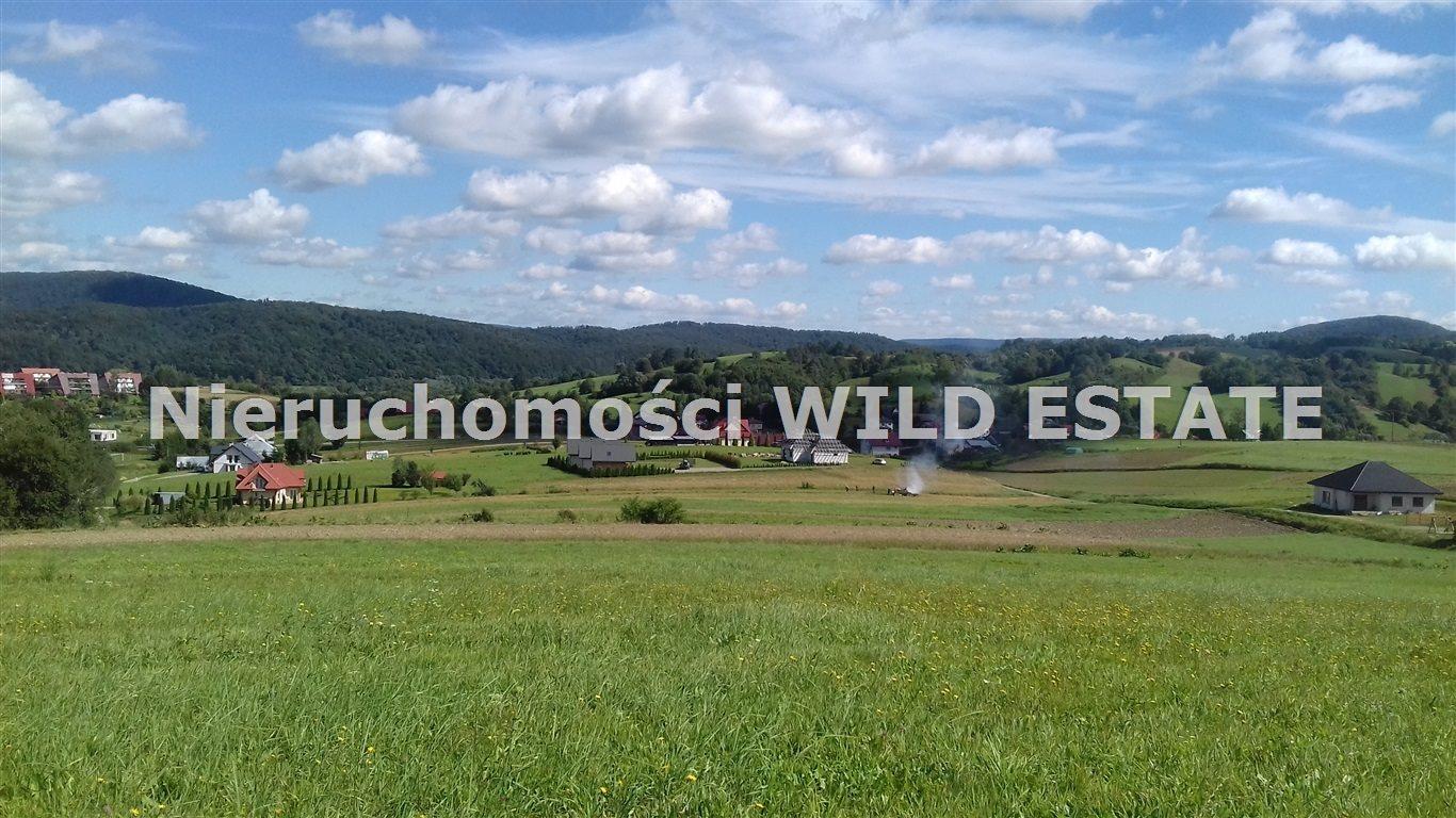 Działka budowlana na sprzedaż Lesko, Średnia Wieś  1446m2 Foto 2