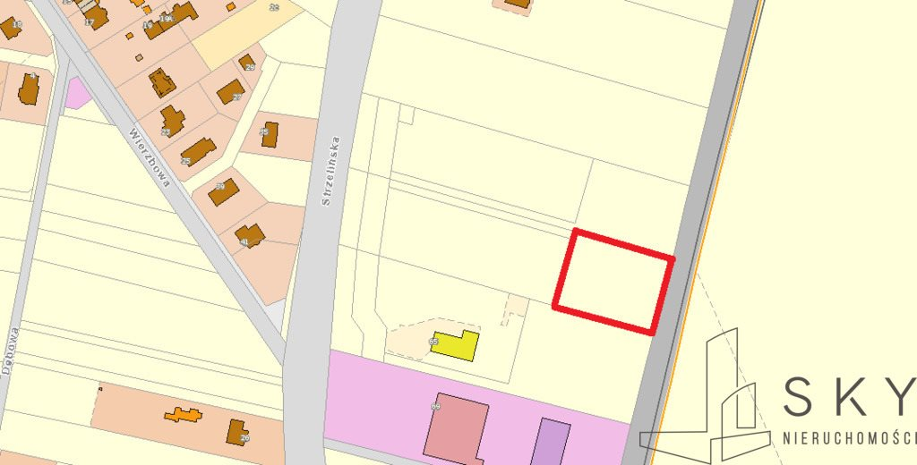 Działka komercyjna na sprzedaż Żerniki Wrocławskie, Strzelińska  3015m2 Foto 1