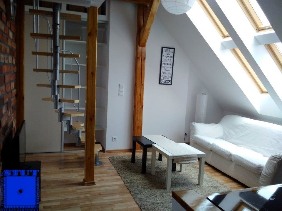 Mieszkanie dwupokojowe na wynajem Gliwice, Centrum, Zimnej Wody  38m2 Foto 3