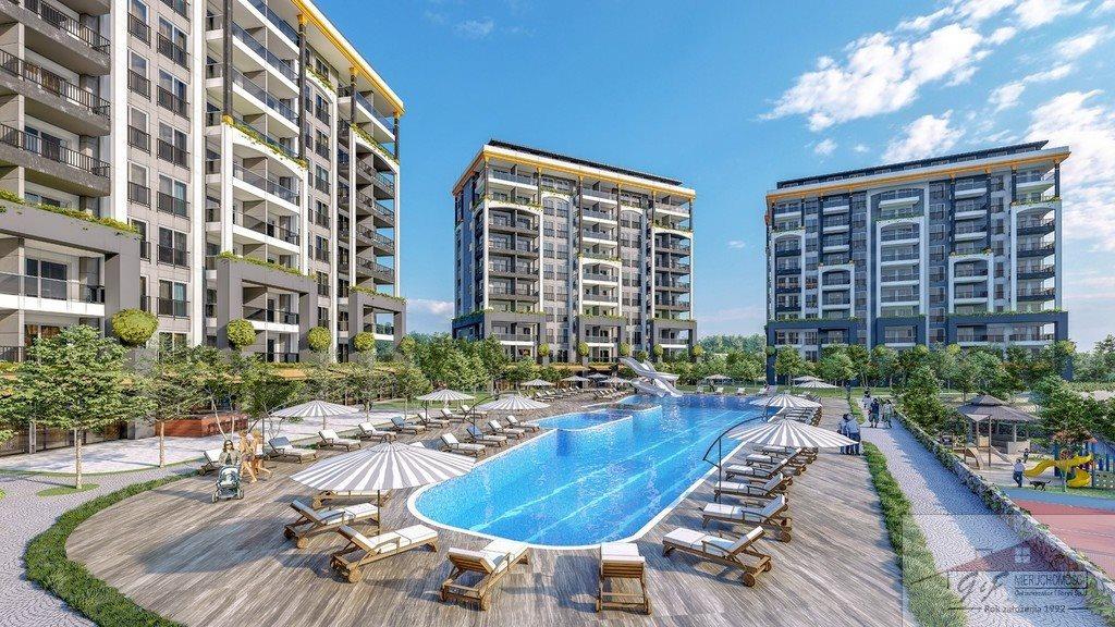 Mieszkanie dwupokojowe na sprzedaż Turcja, Alanya, Avsallar, Alanya, Avsallar  53m2 Foto 2