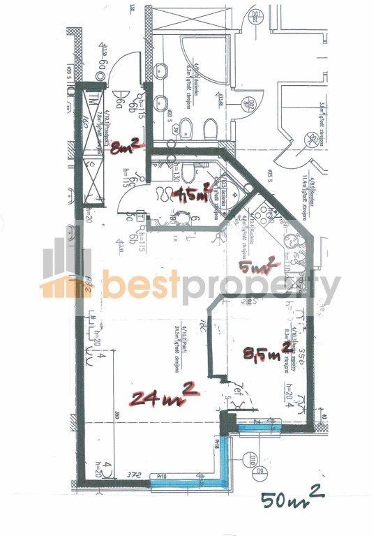 Mieszkanie dwupokojowe na wynajem Warszawa, Śródmieście, Centrum, Grzybowska  50m2 Foto 11
