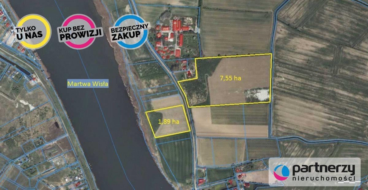 Działka siedliskowa na sprzedaż Gdańsk, Sobieszewo, Przegalińska  75640m2 Foto 3