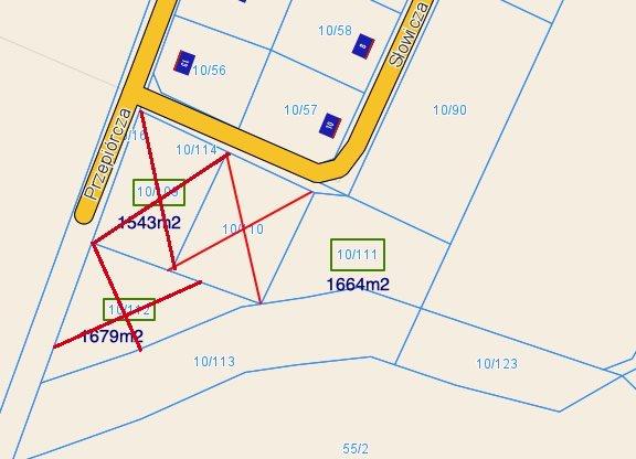 Działka budowlana na sprzedaż Trzcielin, słowicza  1664m2 Foto 8