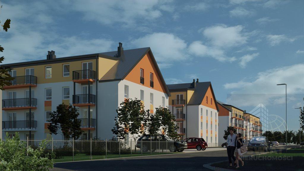 Mieszkanie czteropokojowe  na sprzedaż Szczecin, Dąbie  68m2 Foto 2