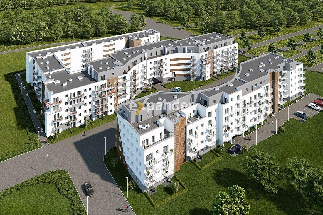 Mieszkanie trzypokojowe na sprzedaż Poznań, Malta, abpa Walentego Dymka  48m2 Foto 1
