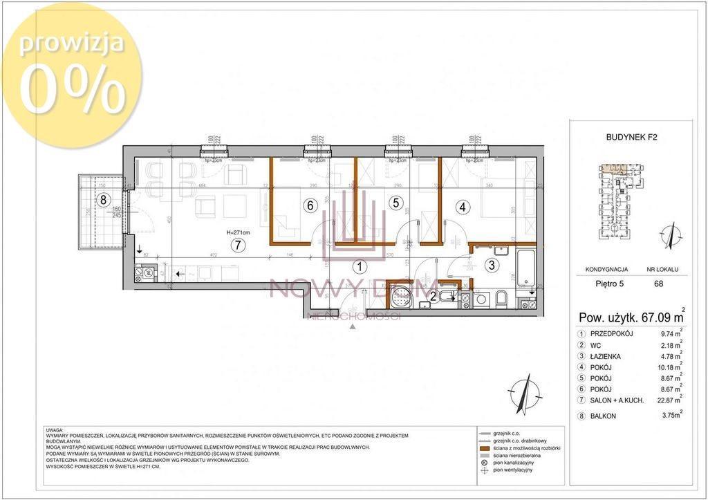 Mieszkanie czteropokojowe  na sprzedaż Warszawa, Rembertów, Wygoda, Chełmżyńska  67m2 Foto 11