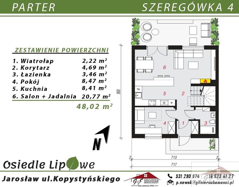 Dom na sprzedaż Jarosław, Stanisława Kopystyńskiego  129m2 Foto 2