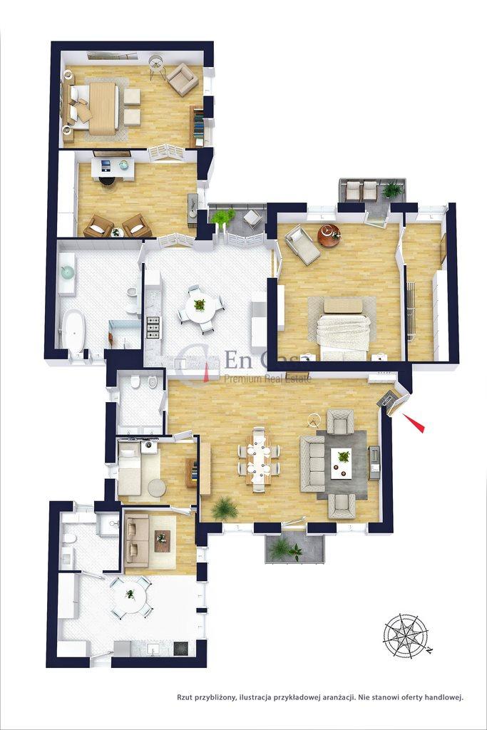 Mieszkanie na sprzedaż Warszawa, Śródmieście, Wiejska  198m2 Foto 13