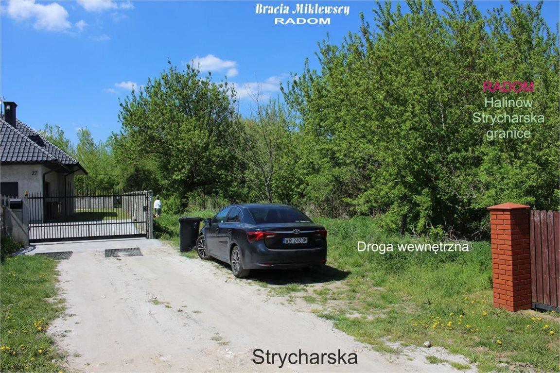 Działka budowlana na sprzedaż Radom, Halinów, Strycharska  2682m2 Foto 2