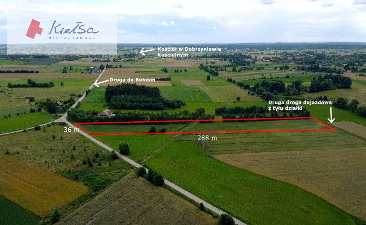 Działka rolna na sprzedaż Dobrzyniewo Kościelne  10378m2 Foto 1