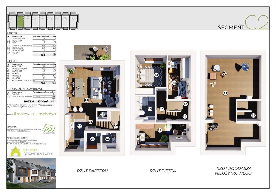 Dom na sprzedaż Rzeszów, Załęże, Jaspisowa 52  83m2 Foto 7