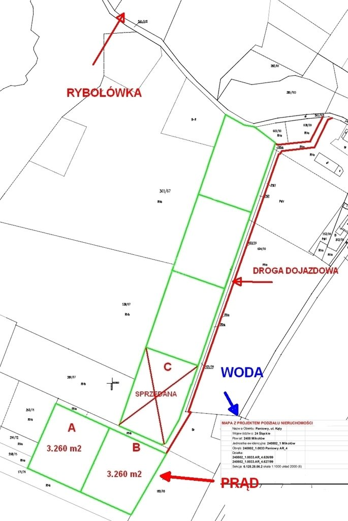 Działka rolna na sprzedaż Mikołów, Kąty, Kąty  3260m2 Foto 10