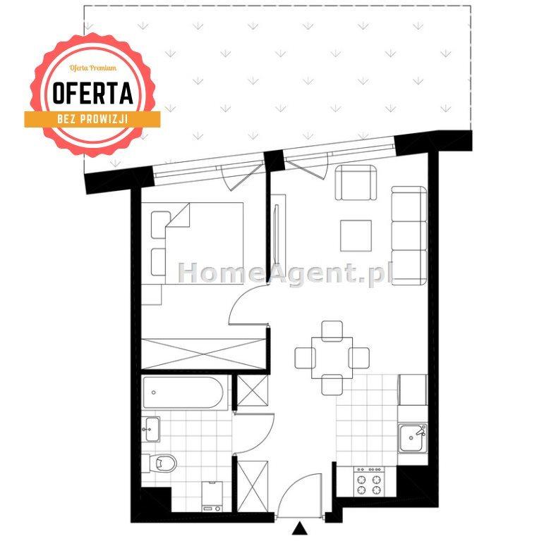 Mieszkanie dwupokojowe na sprzedaż Katowice, Wełnowiec, Bytkowska  35m2 Foto 8